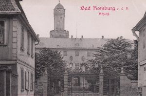 BAD HOMBURG , 1901-07 ; Schloss
