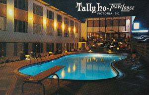 Canada British Columbia Taly Ho TraveLodge Swimming Pool Victoria