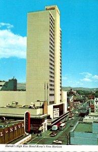 Nevada Reno Harrah's High Rise Hotel
