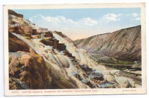 Yellowstone National Park Jupiter Terrace Vintage J.E. Haynes 23297 Postcard