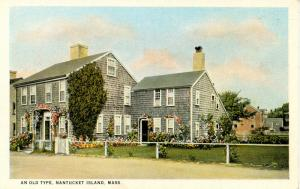 MA - Nantucket. An Old Home