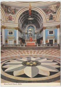 Mosta Parish Church, Malta, unused Postcard