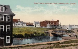 NEW LISKEARD, Canada, 00-10s; Hotel Canada & River
