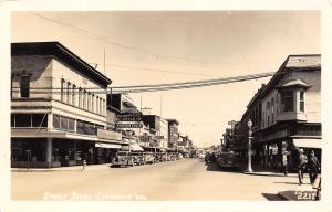 Centralia Washington~Beacon Store~Garrison Fountain Lunch~Price Radio~1940 RPPC