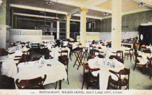 SALT LAKE CITY, Utah, 00-10s; Restaurant, The Wilson Hotel