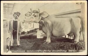 germany, BERLIN, Int. Milchwirtschaftliche Ausstellung, Dairy Expo (1937) RPPC 1
