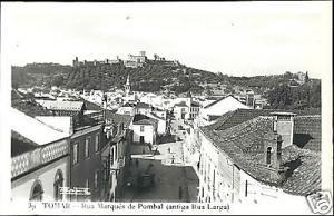 portugal, TOMAR, Rua Marques de Pombal (1950s) RPPC