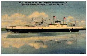 M.V.Valcour , Lake Champlain Transportation Co.