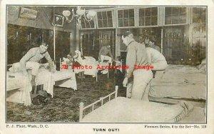 Washington DC, Fire Department, Turn Out! P.J. Plant Firemen Series No 110