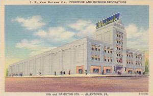J.B. Van Sciever Co. Furniture & Interior decorations , ALLENTOWN , Pennsylva...
