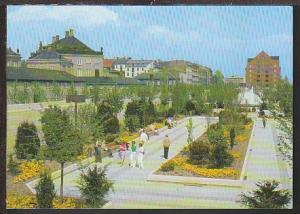 Amalie Garden Copenhagen Denmark Postcard BIN