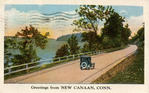 CT - Greetings from New Canaan