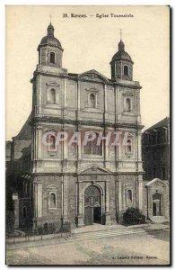 Postcard Old Rennes All Saints Church