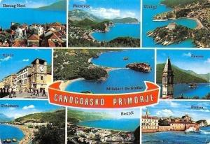 Montenegro Crnogorsko Primorje, Kotor, Sutomore, Becici, Budva, Ulcinj, Perast