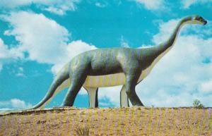 South Dakota Rapid City Dinosaur Park Brontosaurus