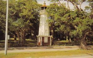 Baldwin Wood Lighthouse Biloxi Mississippi