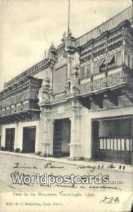 Lima, Peru Casa de los Marqueses, Torre-Tagle  Casa de los Marqueses, Torre-T...