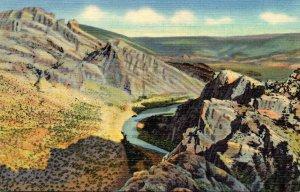 Colorado Dinosaur National Monument Split Mountain Gorge Curteich