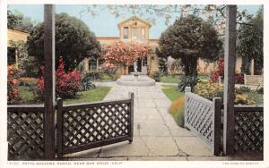 San Diego California~Ramona's~Guajome Ranch Patio~Fountain~1910 Detroit Pub Co