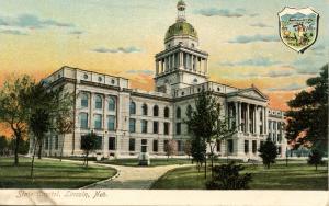 NE - Lincoln. State Capitol