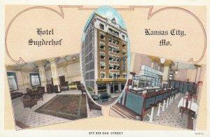 KANSAS CITY , Missouri , 1910s ; Hotel Snyderhof
