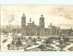 old rppc NICE VIEW Mexico City Mexico i3196