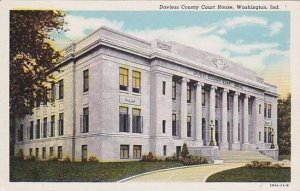 Indiana Washington Daviess County Court House