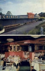 Tommy Chens Casino, Mamarineck, NY USA Restaurant Old Vintage Antique Postcar...