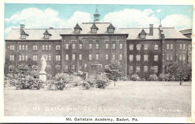 Pennsylvania Baden Mt Gallatain Academy
