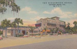 Florida Daytona The Ridgewood Hotel & Grill 1956 Curteich
