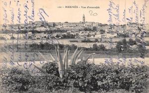 Morocco Meknes Vue d'ensemble, General view Panorama