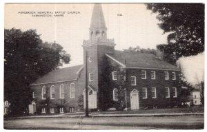 Farmington, Maine, Henderson Memorial Baptist Church