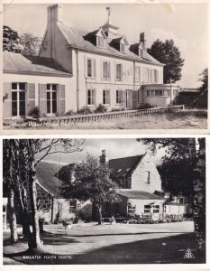 Ballater Exeter Youth Hostel 2x RPC Old Postcard Please Read