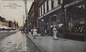 TORONTO (Ontario),  1908 ; Yonge Street at College & Carlton