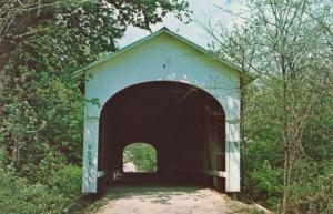 Smith Covered Bridge near Rushville, Rush County IN, Indiana