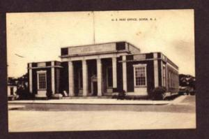 NJ US U S Post Office DOVER NEW JERSEY Postcard PC