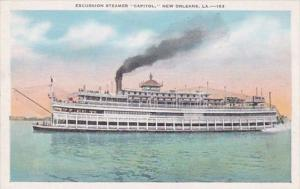 Louisiana New Orleans Excursion Steamer Capitol
