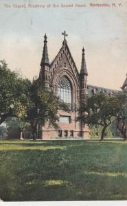 Chapel at Academy of the Sacred Heart - Rochester, New York - pm 1907 - DB