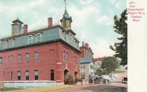 CHELSEA , Massachusetts , 1901-07 ; Horse Drawn Fire Department