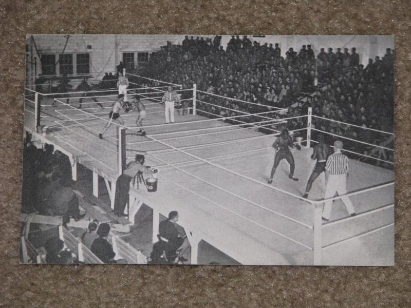 Boxing is a Popular Sport among the Soldiers at Keesler Field, Biloxi, Miss.