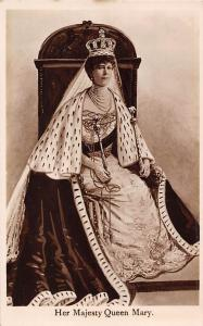 Royalty: Her Majesty Queen Mary, Throne, Crown All-British