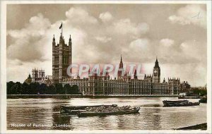 Old Postcard Houses of Parliament London