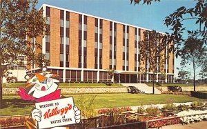 Advertising Post Card Kellogg's Cereal Battle Creek, MI, USA Unused
