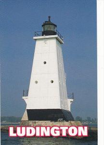 Ludington Lighthouse Ludington Michigan