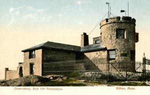 MA - Milton. Blue Hill Reservation, Observatory