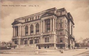 New York Utica Oneida County Court House Albertype
