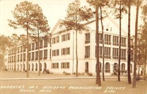 Biloxi Mississippi Veterans Admin Facility Real Photo Antique Postcard K25250