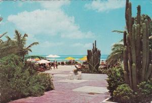 Beach at Aruba Caribbean Hotel , ARUBA , PU-1968