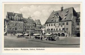 Heilbronn am Neckar, Germany 1930s, Marktplatz