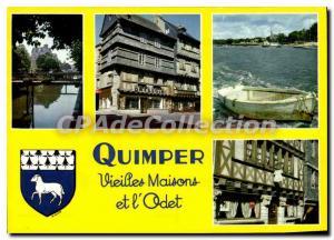 Modern Postcard Quimper Old Houses And I'Odet